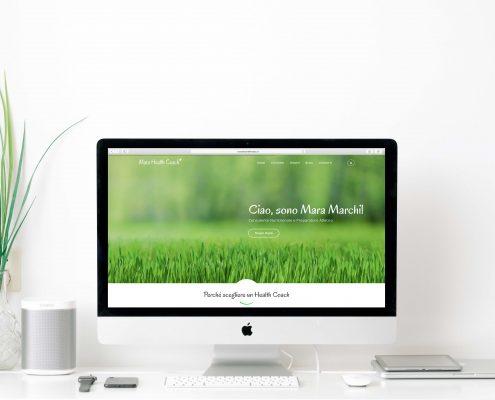 nuovo sito web health coach