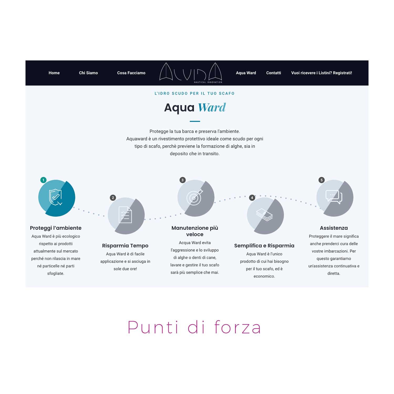 nuovo sito web prodotti per la nautica