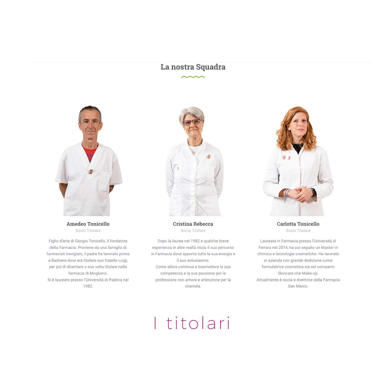 sviluppo nuovo sito farmacia