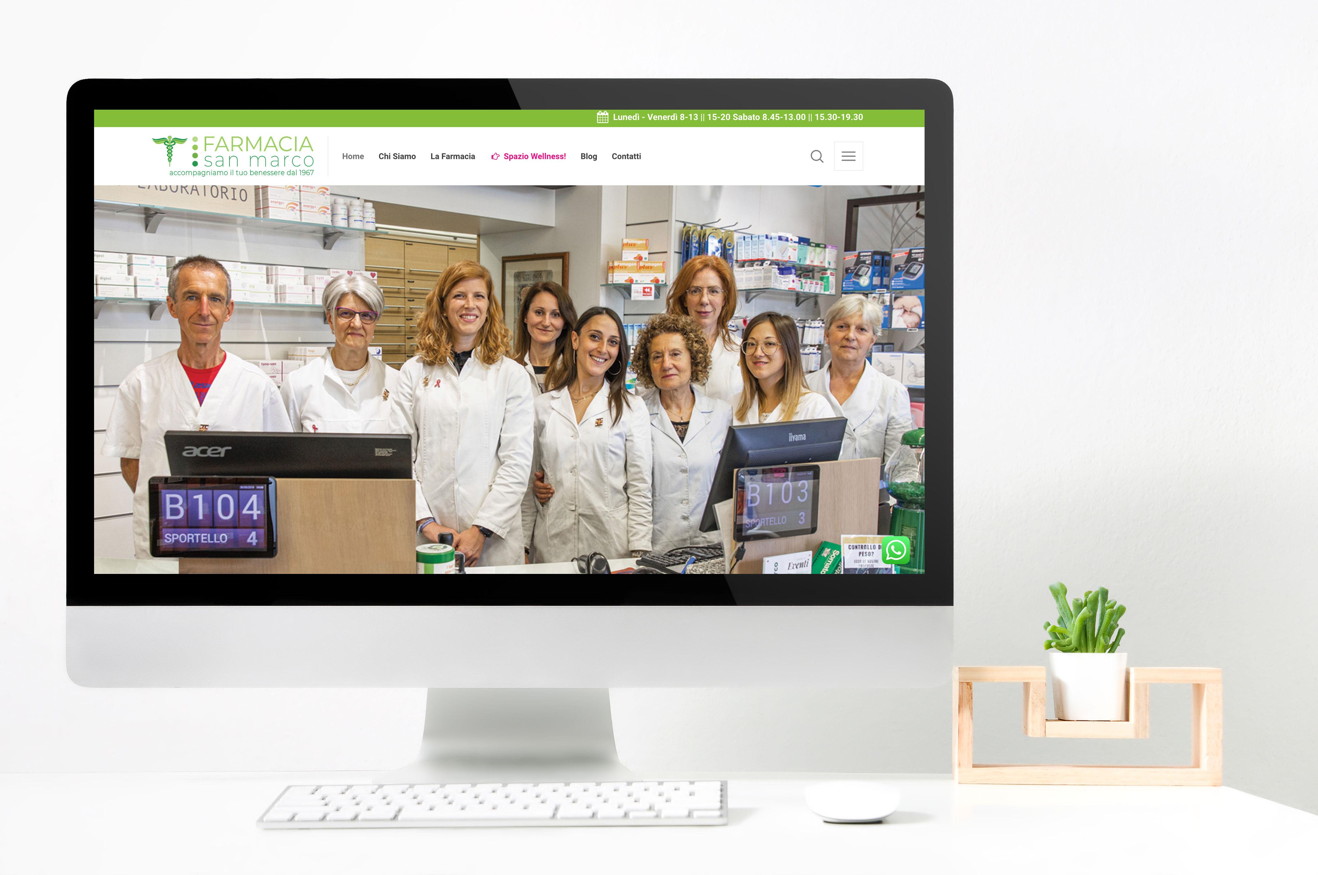 Realizzazione sito web Farmacia